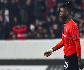Camavinga, bientôt 17 ans, français et sélectionnable. AFP
