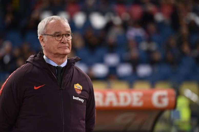 Ranieri se convertirá en nuevo entrenador de la Sampdoria. AFP