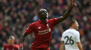 Sadio Mané does not forget his humble origins. AFP