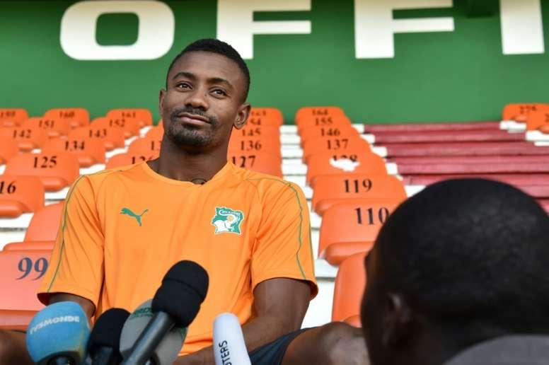 Un homme au grand cœur ce Salomon Kalou. AFP