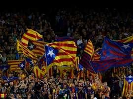 Piqué orgulhoso do Barça após o julgamento dos independentistas. AFP