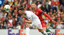 Ronaldo porta i lusitani in finale. AFP
