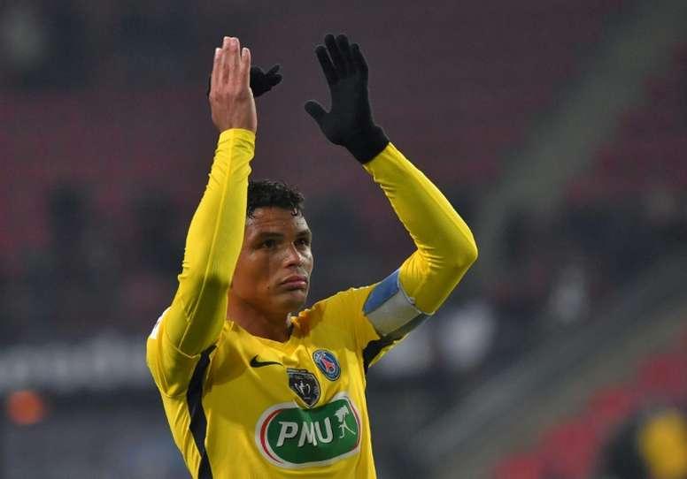 Thiago Silva veut prouver de quoi il est capable. AFP