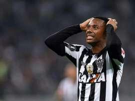 Robinho has had his conviction for gang rape upheld. AFP
