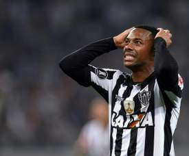 Robinho has had his conviction for gang rape upheld. AFP