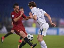 Florenzi veut continuer à défendre les couleurs de la Roma. AFP