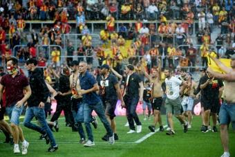 El Lens, sancionados dos partidos sin público en su estadio
