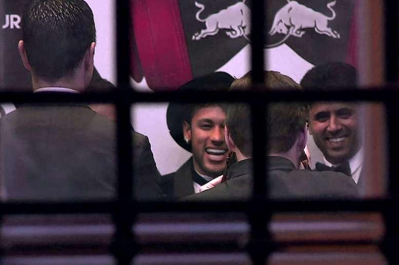 Al-Khelaïfi quer seguir a evolução de Neymar. AFP