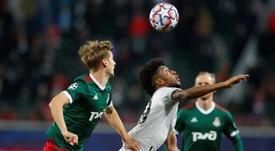 El Lokomotiv se impuso al Rubin Kazan. AFP