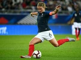 La Française Amandine Henry. AFP