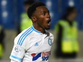 Georges-Kévin Nkoudou ha despertado el interés de la Premier League. AFP