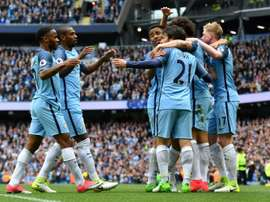 Pep Guardiola wants to rebuild City's squad. AFP
