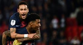 Le Barça maîtrise le PSG et profite des tensions. AFP