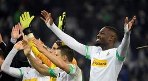 Thuram n'a plus marqué depuis décembre en Bundesliga. AFP