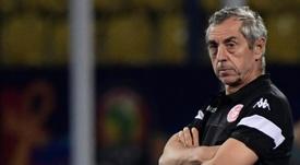 Alain Giresse acordó su rescisión con Túnez. AFP