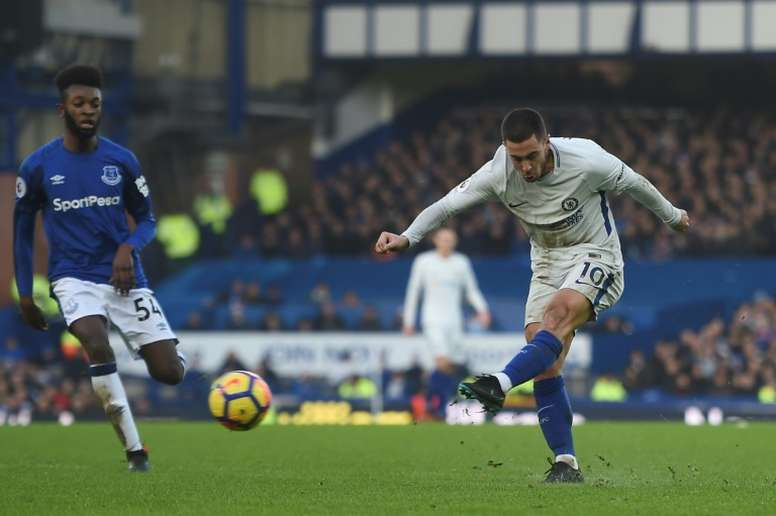 Hazard está a ser dado como certo no Real Madrid. AFP