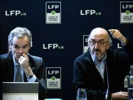 Mediapro baptise sa chaîne Téléfoot grâce à un accord avec TF1. AFP