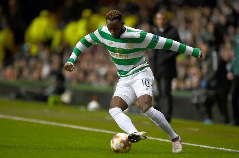 Moussa Dembélé no está en la agenda del Olympique de Marsella. AFP