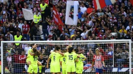 Le foot féminin à l'honneur. AFP