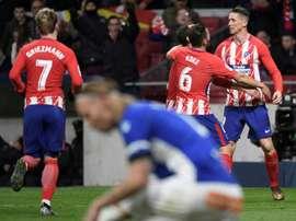 Torres ainda só marcou três gols em 2017/18. AFP