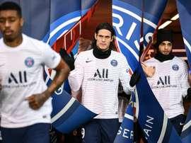 Cavani va quitter le PSG cet été. AFP