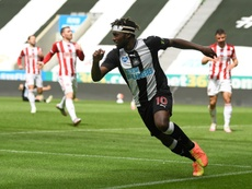 Newcastle coule Sheffield United. AFP