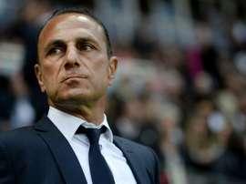 Michel der Zakarian vuelve al Montpellier. AFP/Archivo