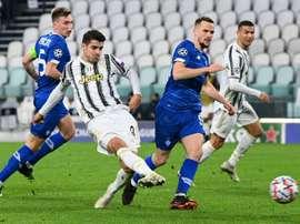 La Juventus pourra défier Barcelone pour la première place. AFP