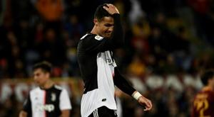Cristiano no estará en la despedida de Allegri. AFP