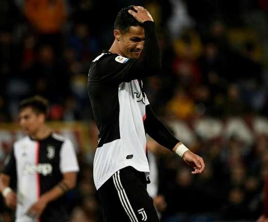 Ronaldo has not had an easy time at Juventus this season. AFP