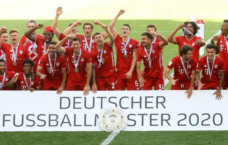 Hoeness croit au triplé du Bayern Munich. AFP