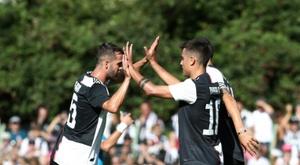 La Juventus ouvre le bal à Parme. AFP