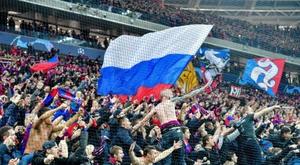 Le championnat russe reprendra avec du public réduit. AFP