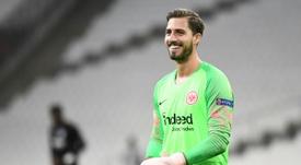 L'Eintracht Francfort souhaite de nouveau le prêt de Kevin Trapp. AFP