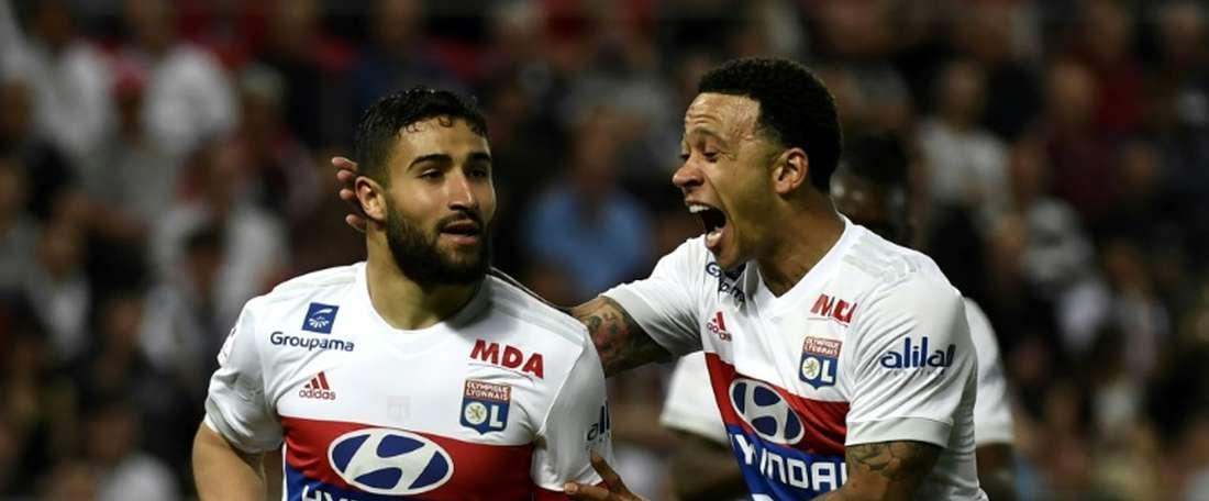 Lyon em grande fase na Ligue 1. AFP
