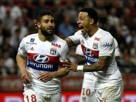 El Olympique de Lyon pasó por encima del Dijon. AFP
