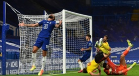 Giroud interesa al Inter. AFP