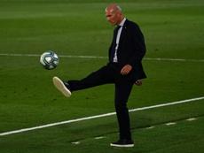 Zidane et le Real Madrid, nouvelle saison pour un doublé. afp