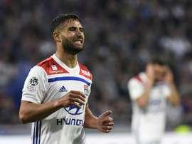 Lyon desmente rumores da saída de Fekir. AFP