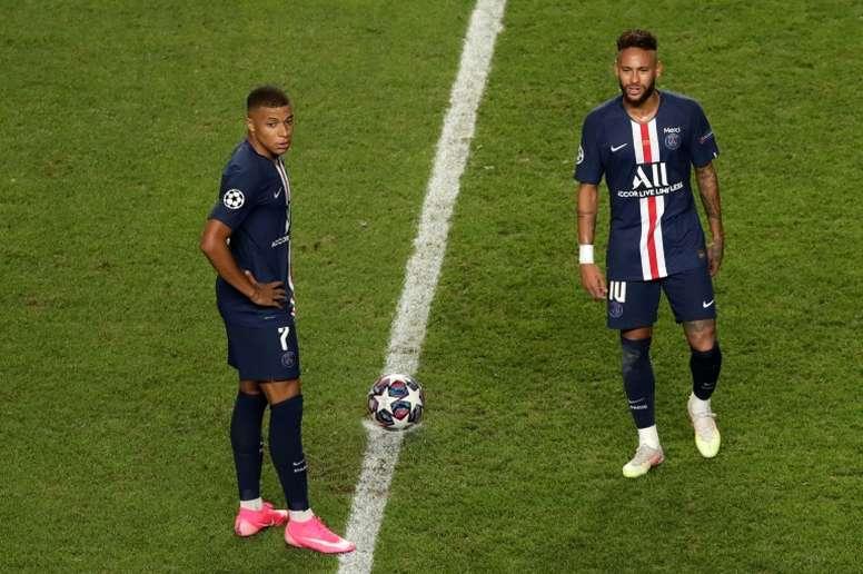 Vendre Neymar pour prolonger Mbappé? AFP