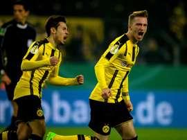 Vitória importante para o Borussia no campeonato alemão. AFP