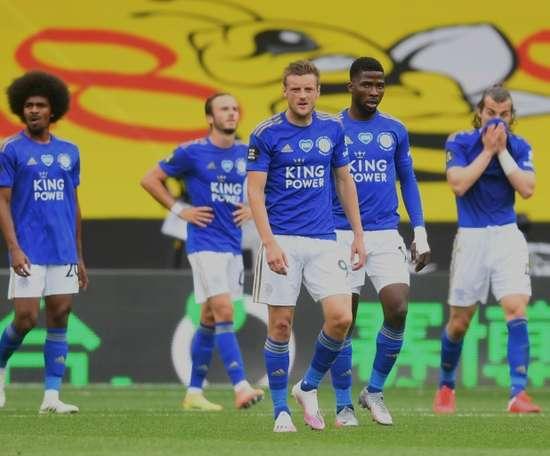 Leicester laisse filer des points à Watford. AFP