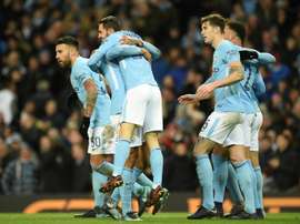 Manchester City reçoit Bristol. AFP