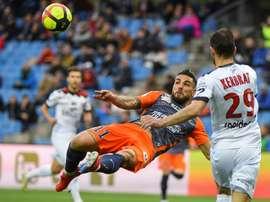Montpellier enfonce Guingamp et se relance. AFP