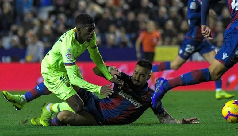 El Barcelona se llevó una derrota menos dolorosa. EFE