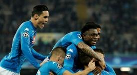 Napoli vence o Shakhtar. AFP