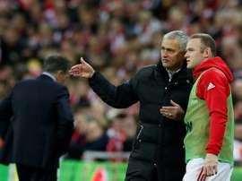 Rooney, du temps d'United. AFP