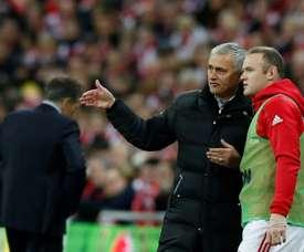 Rooney reveló un secreto de su último año en el United. AFP
