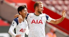 El Tottenham barrió al Southampton. AFP