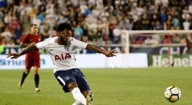N'Koudou deja el Tottenham. AFP